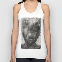 silence of the lambs Tank Tops featuring Silence by faris osaimi