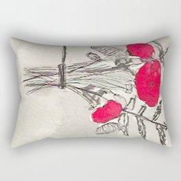 Red Poison Rectangular Pillow