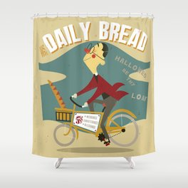 His Daily Bread Shower Curtain