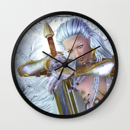 Frozen in thought Wall Clock