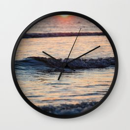 Color of the Waves Wall Clock