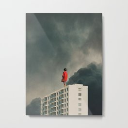 We will Escape from our Cities Metal Print