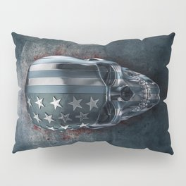American Horror in Metal Pillow Sham