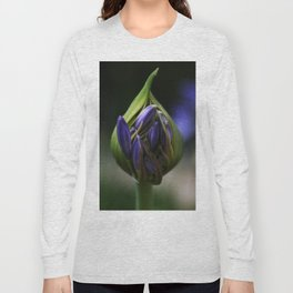 Lily of the Nile Flower Bud Long Sleeve T-shirt