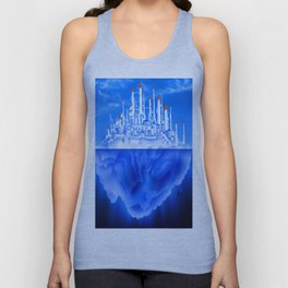 Iceberg City Unisex Tank Top