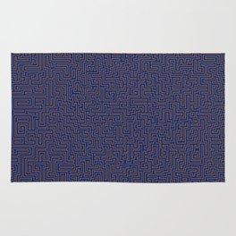 Hyper Maze TROPICAL SUNSET Rug