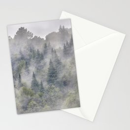 Pinsapos. Into The Woods foggy. Square Stationery Cards