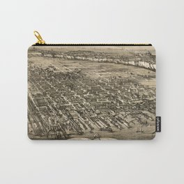 Map Of Hoboken 1881 Carry-All Pouch