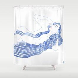 Water Nymph XXXVI Shower Curtain