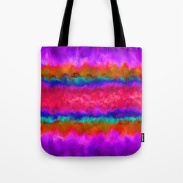 Colors on Fire Tote Bag