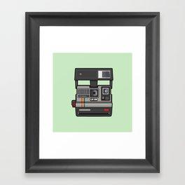 #43 Polaroid Camera Framed Art Print