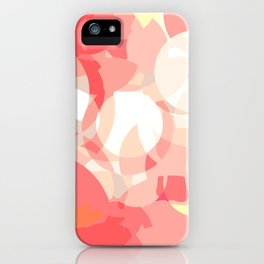 Broken Bubbles (Pink shades) iPhone Case