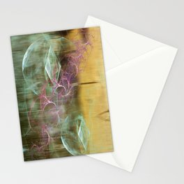Laundry Line in Abstract Stationery Cards