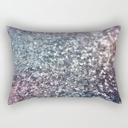Glitter Sparkles Rectangular Pillow