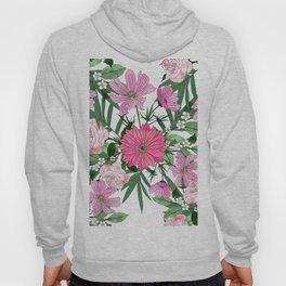 Boho chic garden floral design Hoody