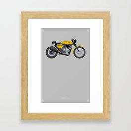 Cafe Bike Framed Art Print