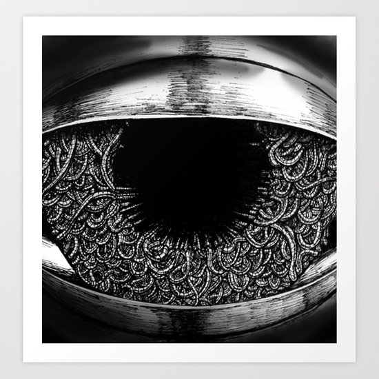 Ominous Eye Art Print