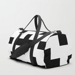 classic retro elegant geometric Yaksha Duffle Bag