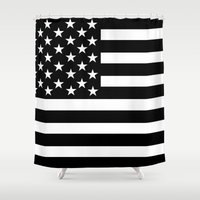 flag Shower Curtains featuring Flag by loveme