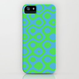 Brain Coral Green - Coral Reef Series 021 iPhone Case