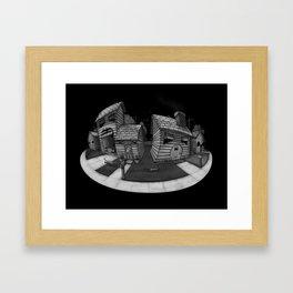 Homies Framed Art Print