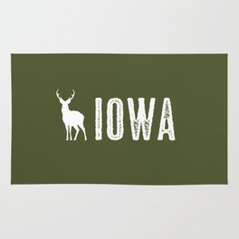 Deer: Iowa Rug