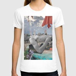 Walking on edge T-shirt