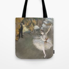 The Star - Edgar Degas Tote Bag