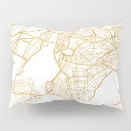 NEW YORK CITY NEW YORK CITY STREET MAP ART Pillow Sham