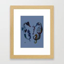 Beautiful Briny Sea Framed Art Print