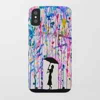 michael jackson iPhone & iPod Cases featuring Deluge by Marc Allante