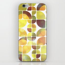 Sunny day pattern iPhone Skin