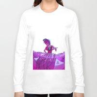dj Long Sleeve T-shirts featuring DJ by Pere Devesa
