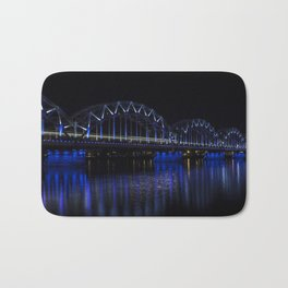 Railroad bridge Bath Mat