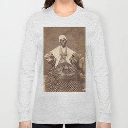 Sojourner Truth Vintage Photo, 1863 Long Sleeve T-shirt