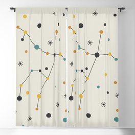 Andromeda Constellation Blackout Curtain