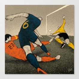 History of FIFA World Cup - South Africa 2010 Canvas Print