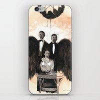 pigeon iPhone & iPod Skins featuring Pigeon by Tauno Erik
