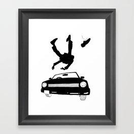 missing shoe Framed Art Print