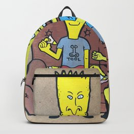 bevies and barthead Backpack