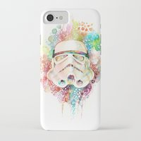 stormtrooper iPhone & iPod Cases featuring Stormtrooper by Veronika Weroni Vajdová