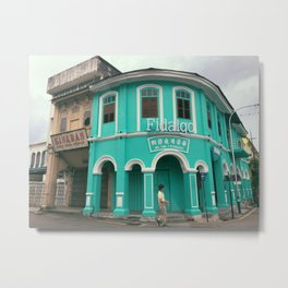 Heritage Building At George Town Metal Print