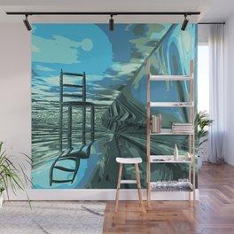 Der leere Stuhl Wall Mural