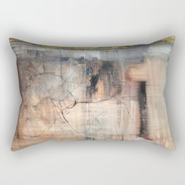 Fracture (oil on canvas) Rectangular Pillow