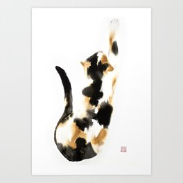 Calico Art Print