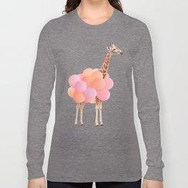 GIRAFFE PARTY Long Sleeve T-shirt