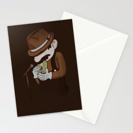 8-bit Blues Stationery Cards