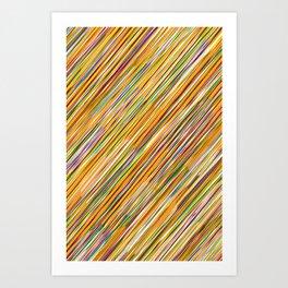 Ze Pattern Art Print