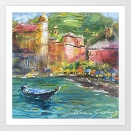 Vernazza, Cinque Terre Italy Art Print