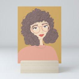 SALLY   Female Digital Illustration Mini Art Print
